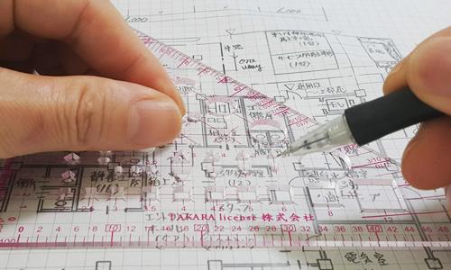 タカラ製図マルチ定規特徴イメージ